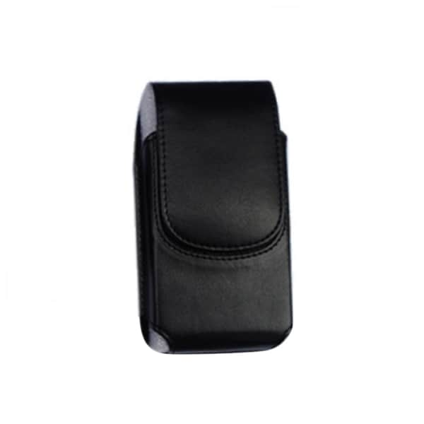 INSTEN Black Vertical Pouch Phone Case Cover With Magnetic Clip For Apple iPhone 4/ 4s