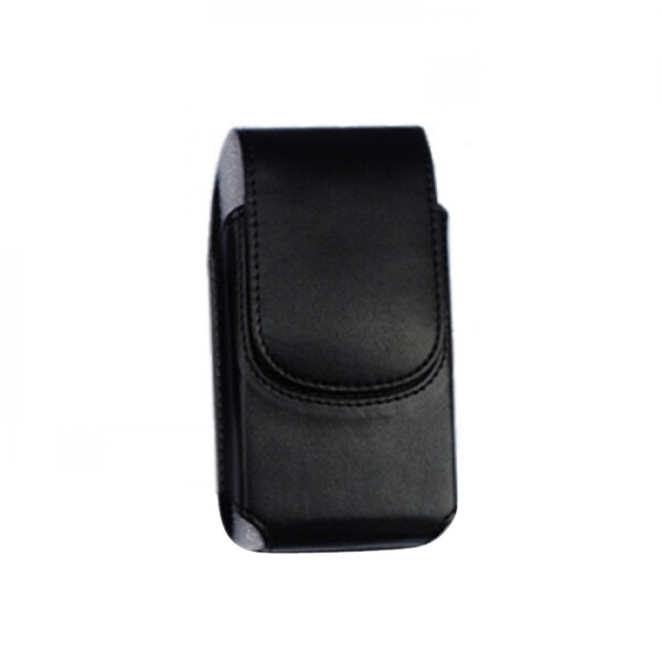 INSTEN Black Vertical Pouch Phone Case Cover With Magnetic Flip For Motorola IDEN Series i730