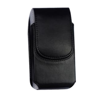 INSTEN Black Vertical Pouch Phone Case Cover With Magnetic Flip For Samsung Galaxy Note LTE