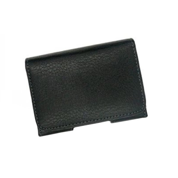 INSTEN Black Horizontal Leather Phone Case Cover Pouch With Belt Clip For HTC EVO 4G