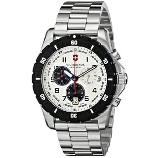 Victorinox Swiss Army Men's 241681 'Maverick Sport' Chronograph Stainless Steel Watch