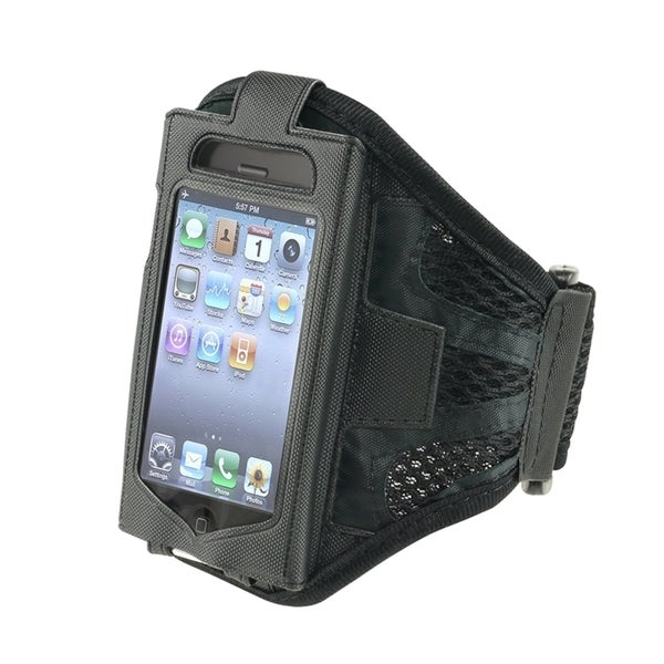 INSTEN Black Sports Exercise Running Armband Phone Case Cover For Apple iPhone 3G