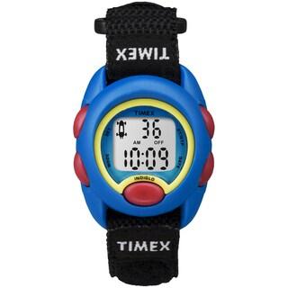 Timex Kids Blue Digital Black Fast Wrap Watch