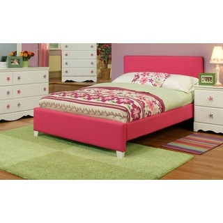 Sandberg Furniture Dulce Pink Upholstered Bed