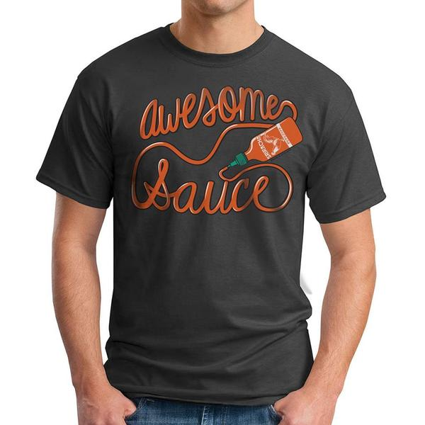 David & Goliath Men's 'Awesome Sauce' Graphic Tee T-shirt