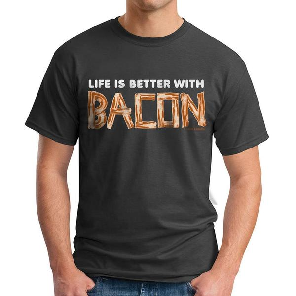 David & Goliath Men's 'Bacon Life' Graphic Tee T-shirt