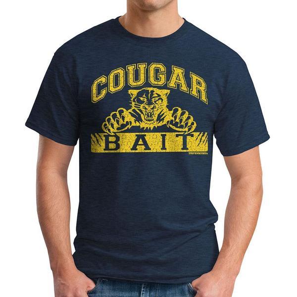 David & Goliath Men's 'Cougar Bait' Graphic Tee T-shirt