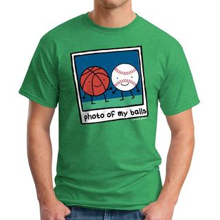 David & Goliath Men's 'Photo Of My Balls' Graphic Tee T-shirt