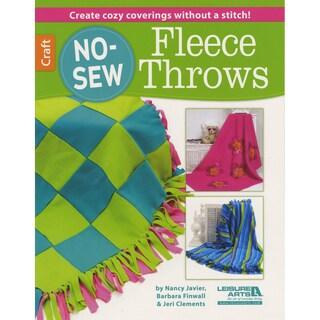 Leisure Arts-No-Sew Fleece Throws