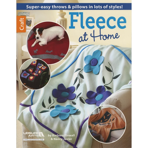 Leisure Arts-Fleece At Home