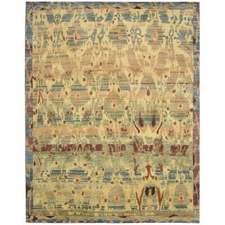 Hand-knotted Dune Gabbeh Area Rug (8'6 x 11'6)