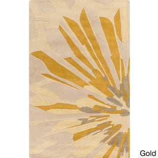 Candice Olson :Hand-Tufted Samson Abstract Pattern Rug (5' x 8')