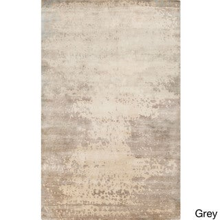 Candice Olson :Hand-Knotted Shiloh Abstract Pattern Rug (5' x 8')