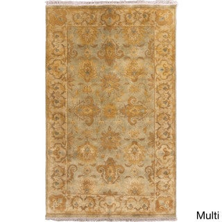 Candice Olson :Hand-Knotted Tucker Classic Style Rug (5' x 8')