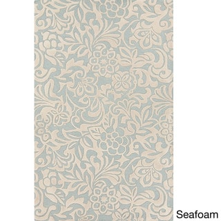 Candice Olson :Hand-Tufted Sidney Floral Pattern Rug (8' x 11')