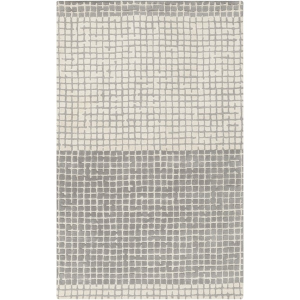 Hand-Tufted Alfonso Contemporary Wool Rug (3'3 x 5'3)