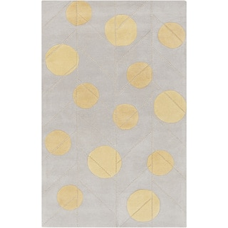 Hand-Tufted Annabel Contemporary Wool Rug (5' x 8')
