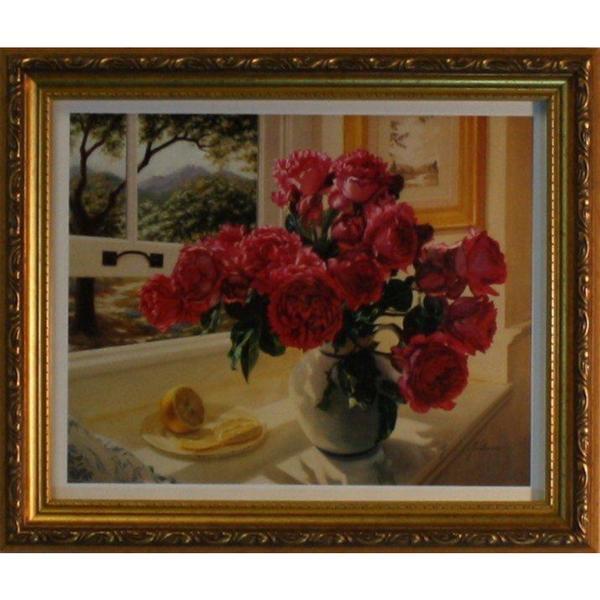 Robin Anderson 'Hot Pink Roses' Framed Art Print
