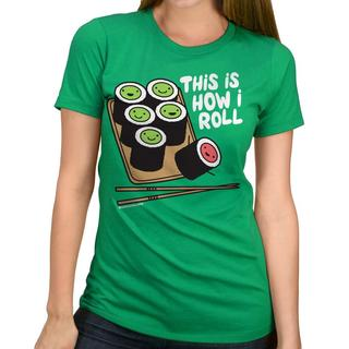 David & Goliath Women's 'How I Roll' Graphic T-shirt