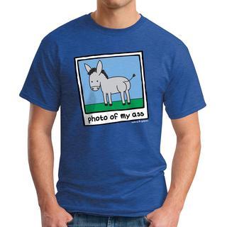 David & Goliath Men's 'Photo of My Ass' Graphic Tee T-shirt