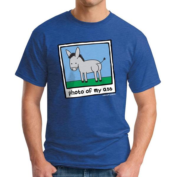 David & Goliath Men's 'Photo of My Ass' Graphic Tee T-shirt