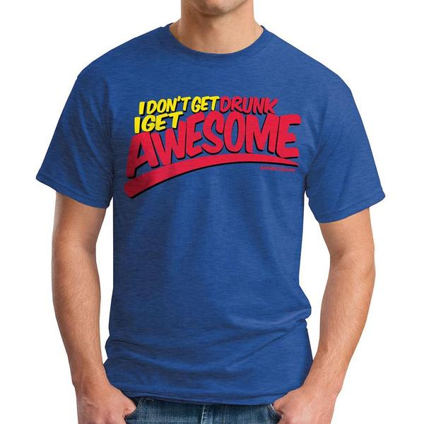 David & Goliath Men's 'I Get Awesome' Graphic Tee T-shirt