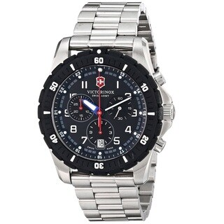 Victorinox Swiss Army Men's 241679 'Maverick Sport' Chronograph Stainless Steel Watch