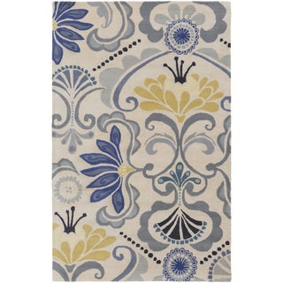 Kate Spain :Hand-Tufted Carley Floral Indoor Rug (3'3 x 5'3)