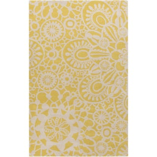 KD Spain Hand-tufted Caiden Floral Indoor Rug (8' x 11')