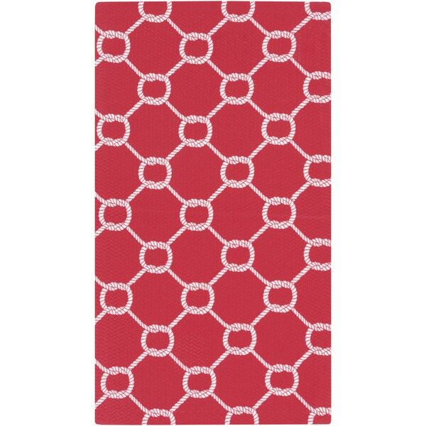 Meticulously Woven Stanford Geometric Indoor/Outdoor Rug (4' x 6')