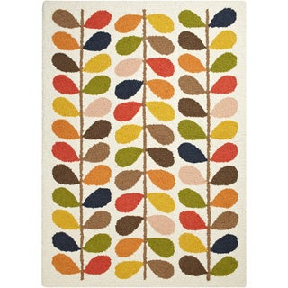 ORLA KIELY :Meticulously Woven Aaden Floral Wool Rug (3'11 x 5'7)