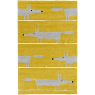 Scion :Hand-Tufted Aubrie Kids & Tween Wool Rug (5' x 8')