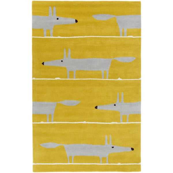 Scion :Hand-Tufted Aubrie Kids & Tween Wool Rug (5' x 8')