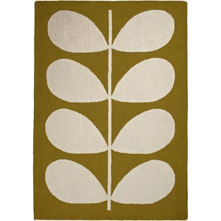 ORLA KIELY :Meticulously Woven Azaria Floral Wool Rug (5'7 x 7'11)