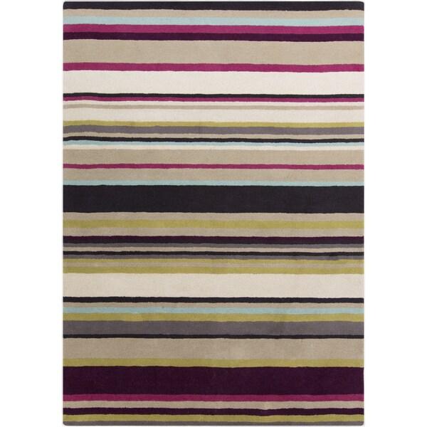 Harlequin :Hand-Tufted Joanna Stripe Pattern Rug (8' x 10')