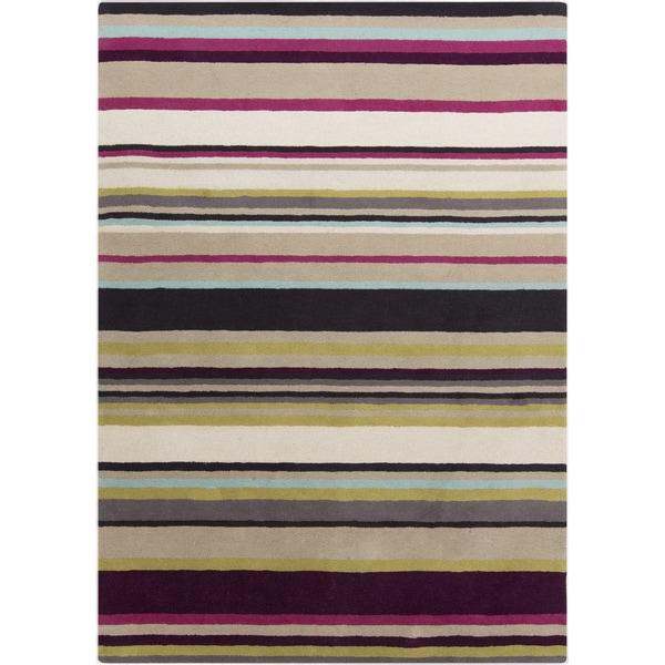 Harlequin :Hand-Tufted Joanna Stripe Pattern Rug (9' x 12')