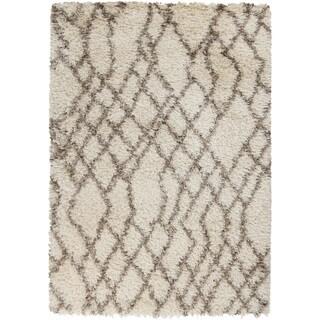 Hand-Woven Kallie Geometric Polyester Rug (8' x 10')