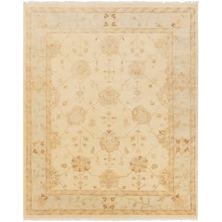 Hand-Knotted Kendell Floral New Zealand Wool Rug (8' x 10')