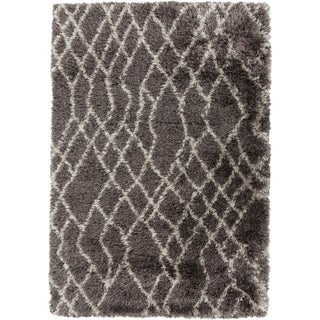 Hand-Woven Kallie Geometric Polyester Rug (9' x 12')