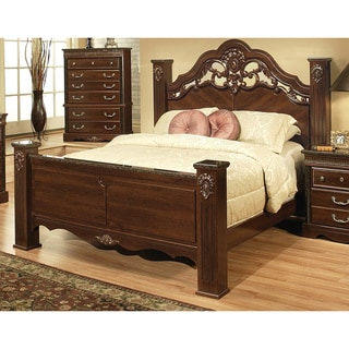 Sandberg Furniture Cherry Brown Alexandria Estate Bed