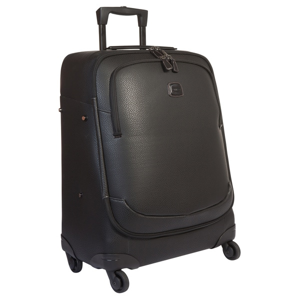 Brics USA Magellano Black 26-inch Spinner Upright Suitcase