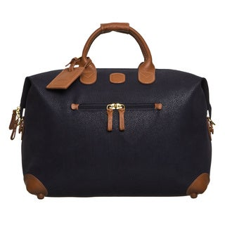 Brics USA Life Navy/ Cognac 18-inch Duffel Bag