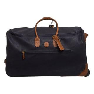 Brics Life Navy/ Cognac 28-inch Rolling Duffel Bag