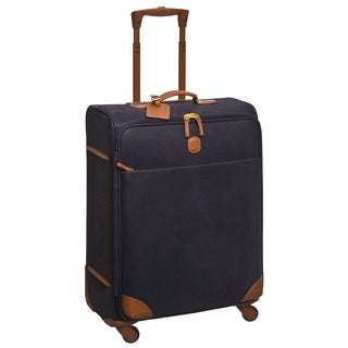 Brics USA Life Navy/ Cognac 25-inch Spinner Upright Suitcase
