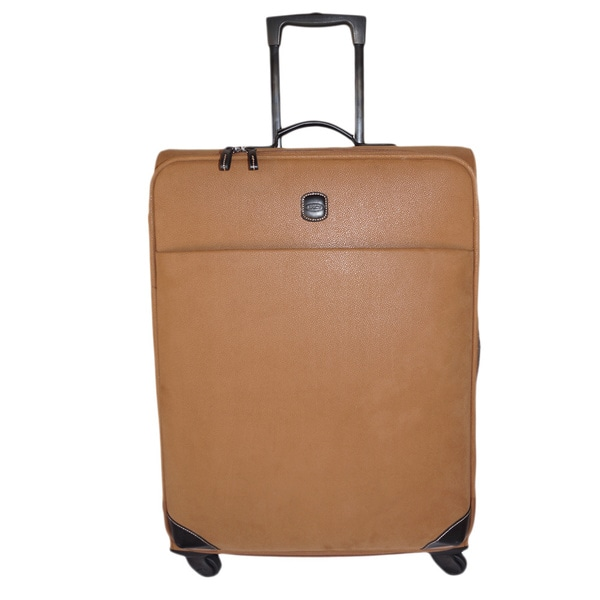 Brics USA Life Caramel 30-inch Large Spinner Upright Suitcase