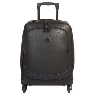 Brics USA Magellano Black 21-inch Carry on Spinner Upright Suitcase