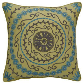 Vue Kimberly Embroidered 16-inch Decorative Throw Pillow