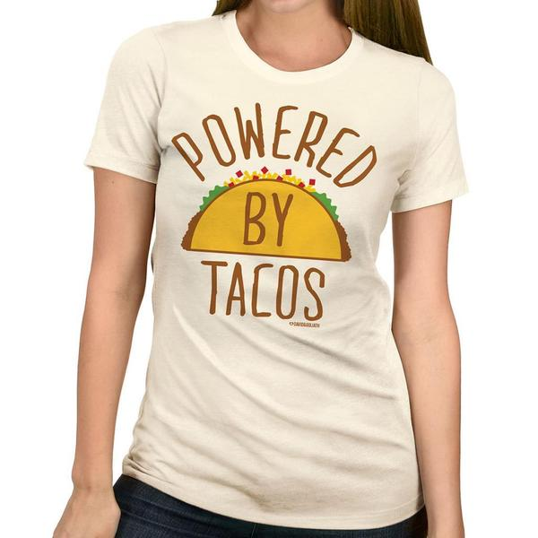 David & Goliath Women's 'Taco Power' Graphic Tee T-shirt