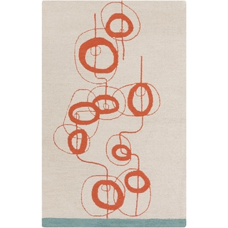 Lotta Jansdotter :Hand-Tufted Ernest Abstract Wool Rug (8' x 11')