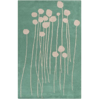 Lotta Jansdotter :Hand-Tufted Eunice Floral Wool Rug (5' x 8')